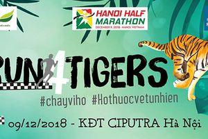 Hơn 750 người tham gia 'Chạy vì hổ' năm 2018
