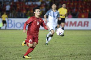 Việt Nam đại chiến Malaysia tranh giải Cầu thủ xuất sắc nhất bán kết