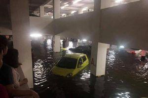 Đà Nẵng ngập lụt lịch sử, hàng loạt xế hộp tiền tỷ 'đuối nước'