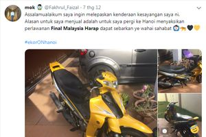 Nhiều CĐV Malaysia bán đồ lấy tiền sang VN xem chung kết AFF Cup