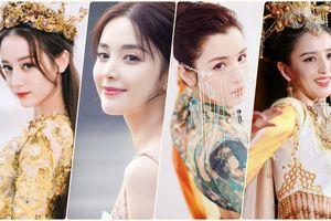 Nhan sắc của bốn mỹ nhân Tân Cương đang gây sốt: Địch Lệ Nhiệt Ba, Đồng Lệ Á, Cổ Lực Na Trát và Cáp Ni Khắc Tư
