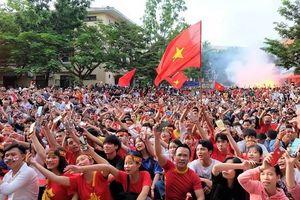 TP Huế: màn hình Led 'khủng' phục vụ người dân xem trận chung kết AFF Cup 2018
