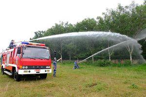 Quân đội tích cực tham gia chữa cháy, cứu nạn