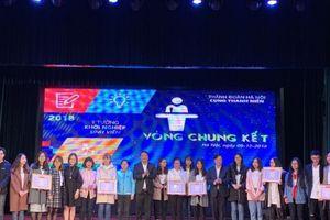Chung kết 'Ý tưởng khởi nghiệp sinh viên' năm 2018