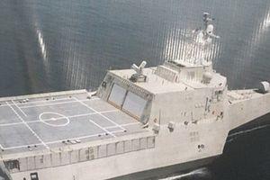 Iran bắt đầu đóng tàu khu trục trimaran hạng nặng đầu tiên