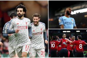 BXH vòng 16 Ngoại hạng Anh 2018/2019: Liverpool 'phế ngôi' Man City