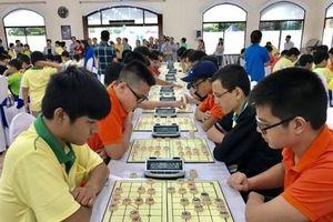 100 kỳ thủ so tài tại giải cờ tướng trẻ Việt Nam mở rộng 2018