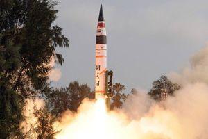 Ấn Độ phóng thử thành công tên lửa đạn đạo tầm xa Agni V