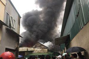 Bộ Công an vào cuộc điều tra tìm nguyên nhân vụ cháy kho hàng sau chợ Vinh