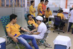 Hơn 200 nhân viên Thắng Lợi Group hiến máu nhân đạo