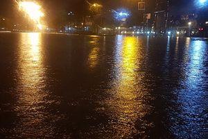 Học sinh Quảng Nam được nghỉ học do mưa lớn