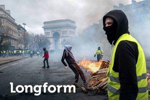 Paris tan hoang sau bạo loạn và cơn ác mộng của Macron