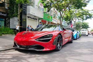 McLaren 720S đẹp long lanh xuống phố Sài Gòn