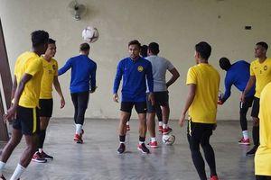 Mưa lớn ảnh hưởng kế hoạch tập luyện của đội tuyển Malaysia