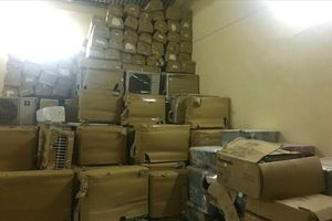 Phát hiện vụ vận chuyển hàng lậu số lượng lớn trên QL 1A