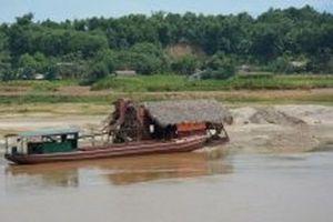 Yên Bái dừng hoạt động chín doanh nghiệp khai thác cát sỏi