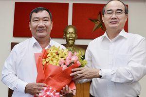 Phó Trưởng ban Nội chính Thành ủy TPHCM Trần Văn Thuận làm Bí thư Quận ủy quận 2