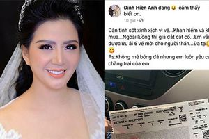 Vợ Thứ trưởng Bộ Tài Chính lên tiếng về việc 'khoe' vé bóng đá
