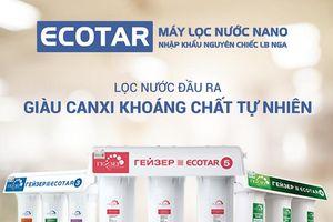 4 lý do gia đình nào cũng nên sử dụng máy lọc nước nano Geyser Ecotar