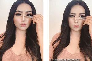 Sống ảo đến tận cùng: Trang điểm mũi cao, mặt V-line không cần phẫu thuật