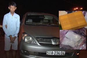 Bắt nghi phạm vận chuyển ma túy trên xe ô tô