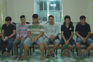 Cảnh sát 113 ngăn chặn nhóm thanh niên mang hung khí đi hỗn chiến