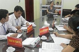 Hà Nội phê duyệt kế hoạch công tác thanh tra năm 2019