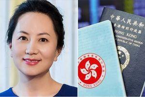 Bà Mạnh Vãn Châu sở hữu 7 cuốn hộ chiếu