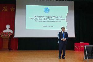 Ông Nguyễn Văn Khải trúng tuyển chức Hiệu trưởng Trường Đại học Y dược Hải Phòng
