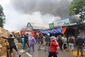 Bộ Công an vào cuộc điều tra vụ cháy kho hàng gần chợ Vinh