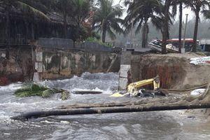 Đà Nẵng vẫn mưa dữ dội, Quảng Nam bắt đầu ngập