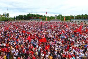 Nghệ An tổ chức xem chung kết Việt Nam - Malaysia tại Quảng trường Hồ Chí Minh