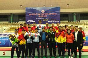 Đoàn Nghệ An xếp thứ hạng 19/65 đoàn tại Đại hội Thể thao toàn quốc lần thứ VIII
