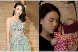 SỐC: Trà Ngọc Hằng bí mật sinh con được 4 tháng, tuyên bố làm mẹ đơn thân