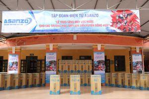 Asanzo trao tặng máy lọc nước cho các trường học trên địa bàn huyện Đông Anh, Hà Nội
