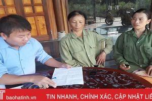 Xã Hương Quang thực hiện chính sách hỗ trợ hộ nghèo là có cơ sở