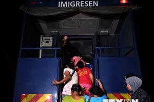 Giới chức Malaysia mạnh tay ngăn chặn nhập cư bất hợp pháp