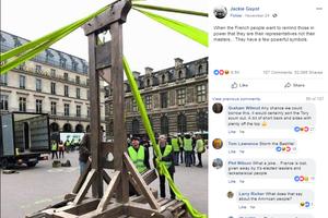 Facebook – 'gốc rễ' của phong trào biểu tình 'Áo vàng' tại Pháp?