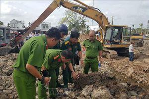 Vụ nổ tại bờ kè hồ Búng Xáng, Cần Thơ: Vật nổ nghi là bom bi sót lại sau chiến tranh