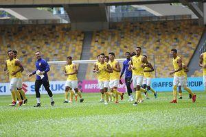 Malaysia hứng khởi trong buổi tập, sẵn sàng quyết đấu tuyển Việt Nam