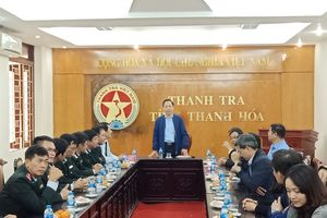 Phó Tổng Thanh tra Trần Ngọc Liêm làm việc tại Thanh Hóa