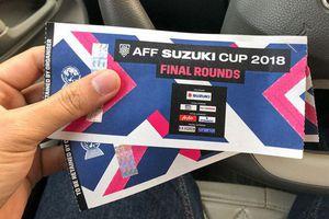 Cách mua vé chung kết AFF Cup 2018 online trận Việt Nam vs Malaysia