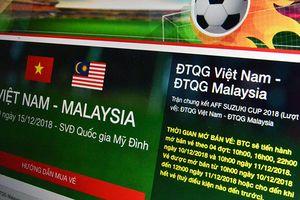 Xuất hiện website bán vé AFF Cup 2018 giả mạo có giao diện giống hệt hệ thống của VFF