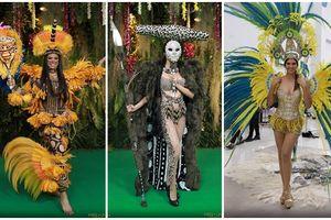 National Costume Miss Universe 2018: Khi Hoa hậu mang 'đặc sản' lên sân khấu trình diễn