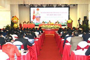 Nghệ An: Khai mạc kỳ họp thứ 8 - HĐND tỉnh khóa XVII