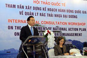 Hội thảo quốc tế tham vấn xây dựng Kế hoạch hành động quốc gia của Việt Nam về quản lý rác thải nhựa đại dương