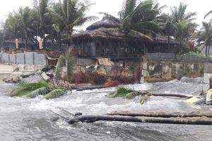 Đà Nẵng: Khẩn trương khắc phục sạt lở, ô nhiễm biển sau đợt mưa lịch sử