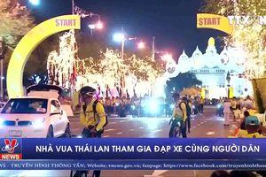 Nhà vua Thái Lan tham gia đạp xe cùng người dân