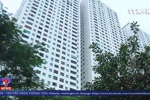 Cháy tại tầng 31 chung cư Linh Đàm, Hà Nội