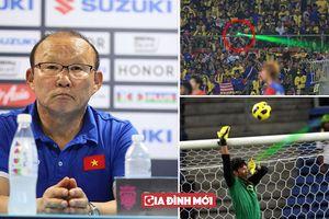 Họp báo trước chung kết: HLV Park Hang Seo lo ngại CĐV Mã chiếu laser vào cầu thủ